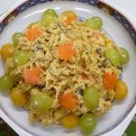 信州の味を彩る根菜和え