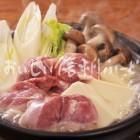 信州黄金シャモの料理【水炊き】