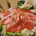 信州サーモンの料理【信州サーモンわさび葉寿し】