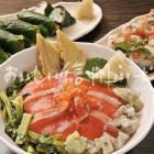 信州サーモンの料理【お寿し各種】
