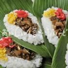 飯山市富倉の笹寿司