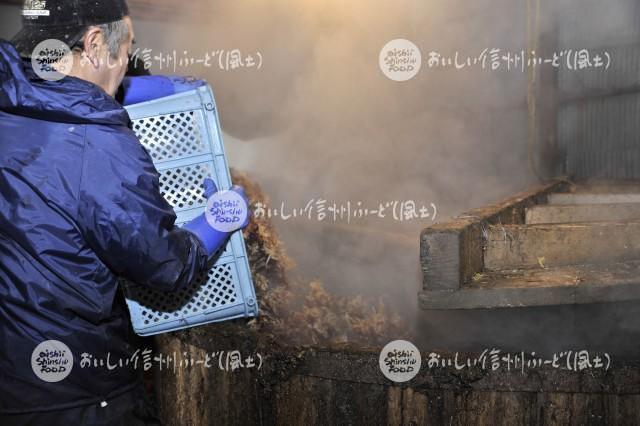 寒天(作業風景)