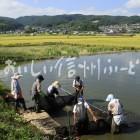 佐久の小鮒(漁風景)