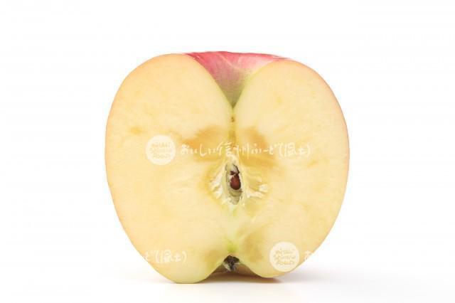 りんご【ふじ】(スタジオ切り口)