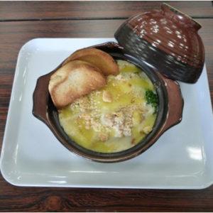 米粉のホワイトソース「野菜たっぷりグラタン」