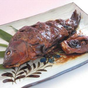 鯉の姿煮(甘露煮)