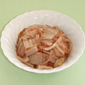 白菜のすんきキムチ漬け