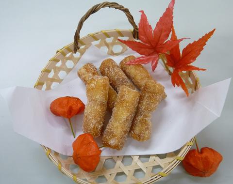 凍り餅の揚げ菓子