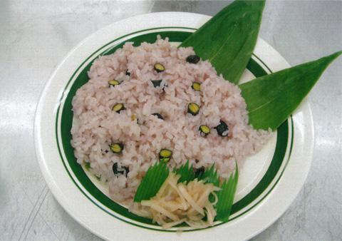 黒大豆のお寿司