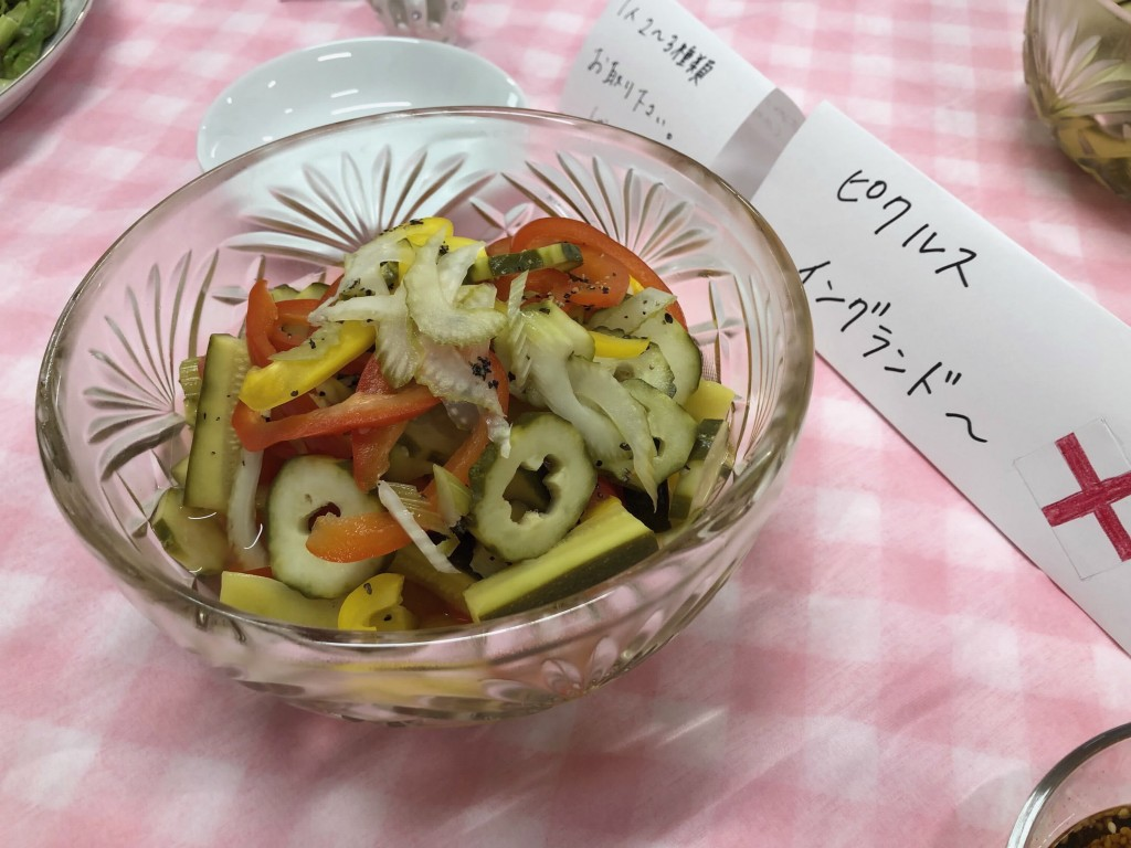 ピクルス ~信州夏野菜を美味しく楽しめるレシピ~