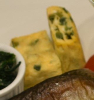 野沢菜の卵焼き