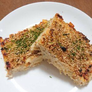 たっぷりきのことチーズの松風焼き