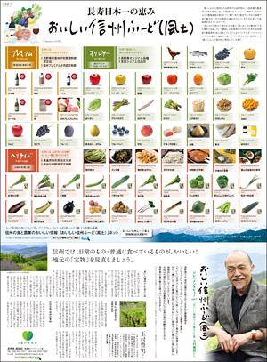 2013年6月12日付 信濃毎日新聞