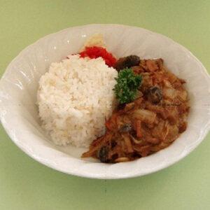 白菜で簡単蒸し煮カレー