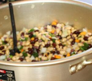 彩り豆のマリネ