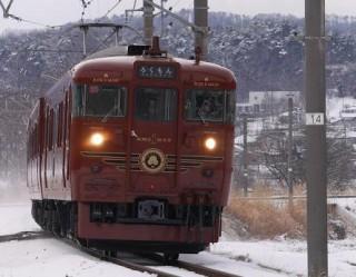 観光列車「ろくもん」で「女性杜氏の選んだ日本酒利き酒プラン」が運行されます。