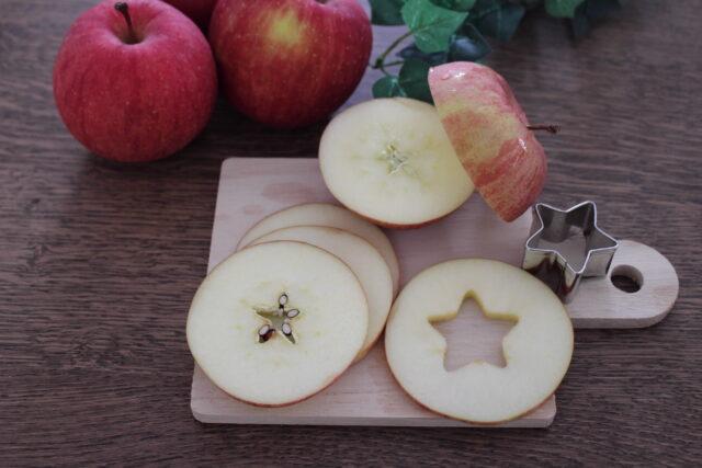 旬のリンゴを食べよう♪