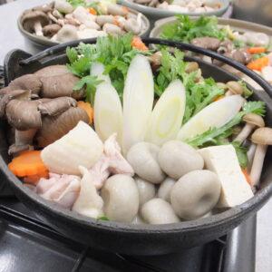 【プロが教える】そば団子と地鶏の豆乳鍋